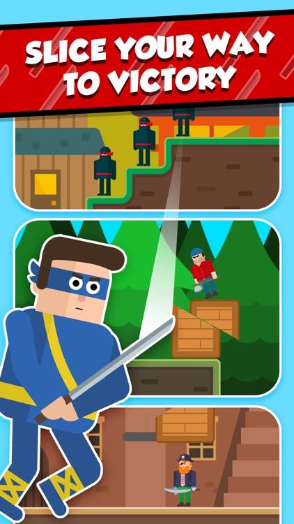 Mr Ninja - Slicey Puzzles screenshot-3