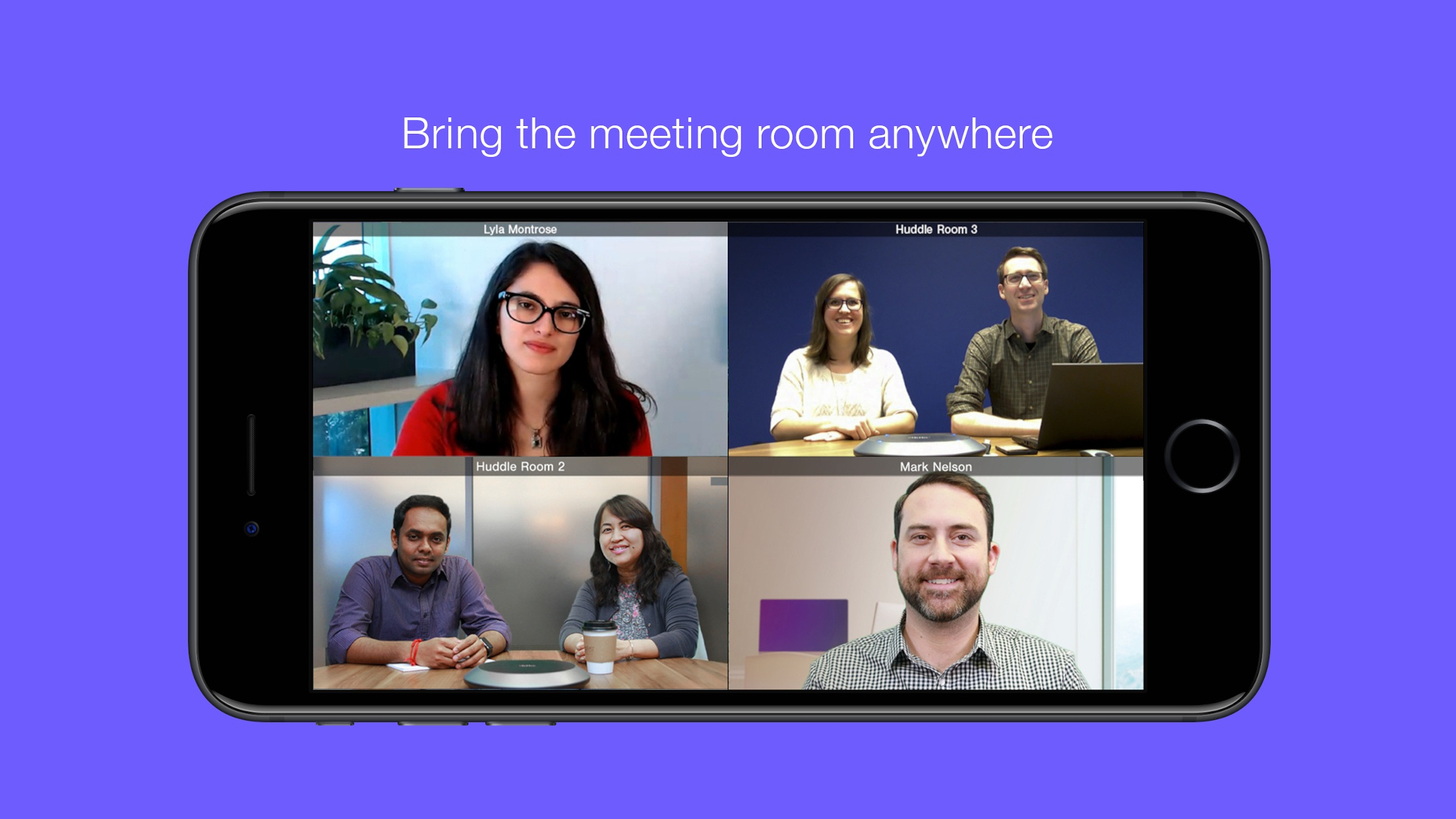 Lifesize Video Conferencing Screenshot
