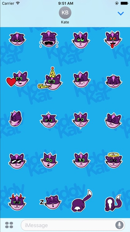 Kiddy Kat Animated Stickers screenshot-4