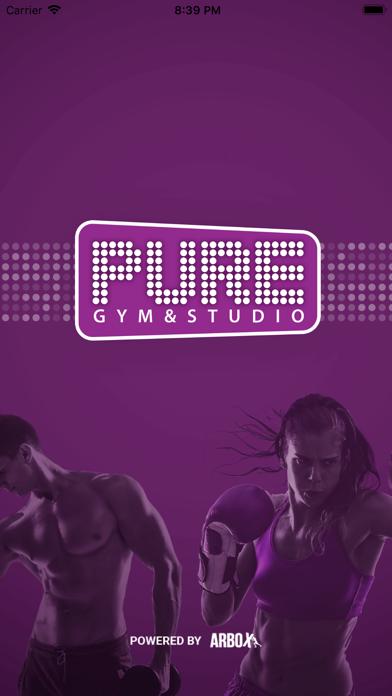 PURE - gym & studio screenshot 1