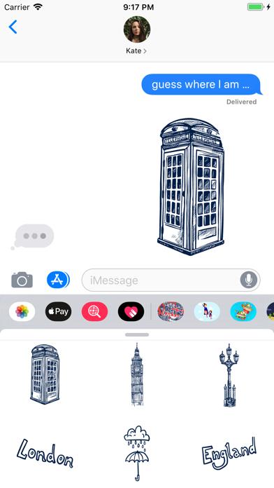 Love London Doodle Stickerpack screenshot 1