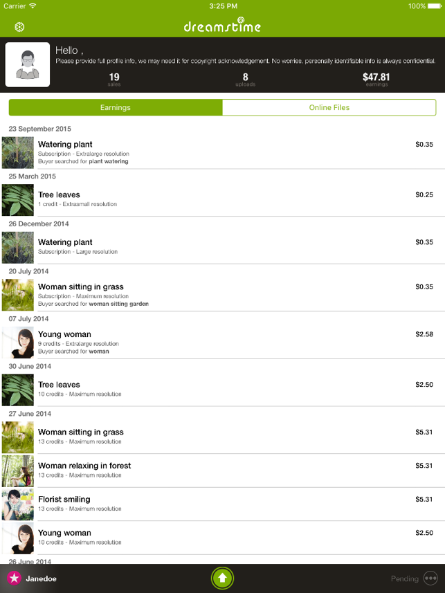 ‎Dreamstime Companion Screenshot