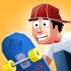 菲利玩滑板-紧张刺激的滑板历险