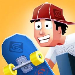 菲利玩滑板-緊張刺激的滑板歷險