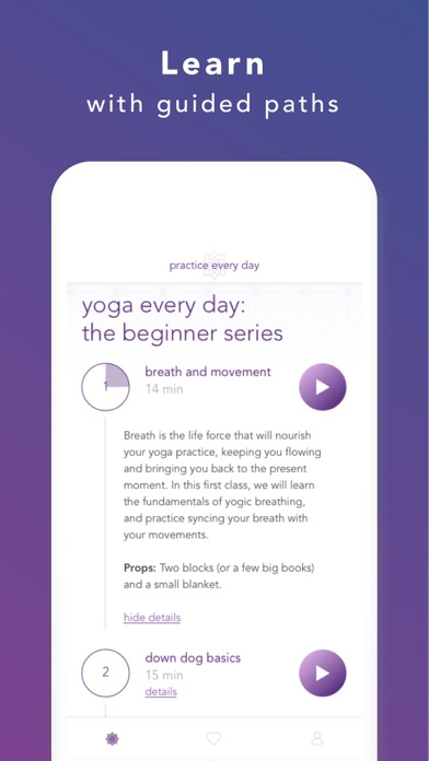 Paths - Streaming practices app image