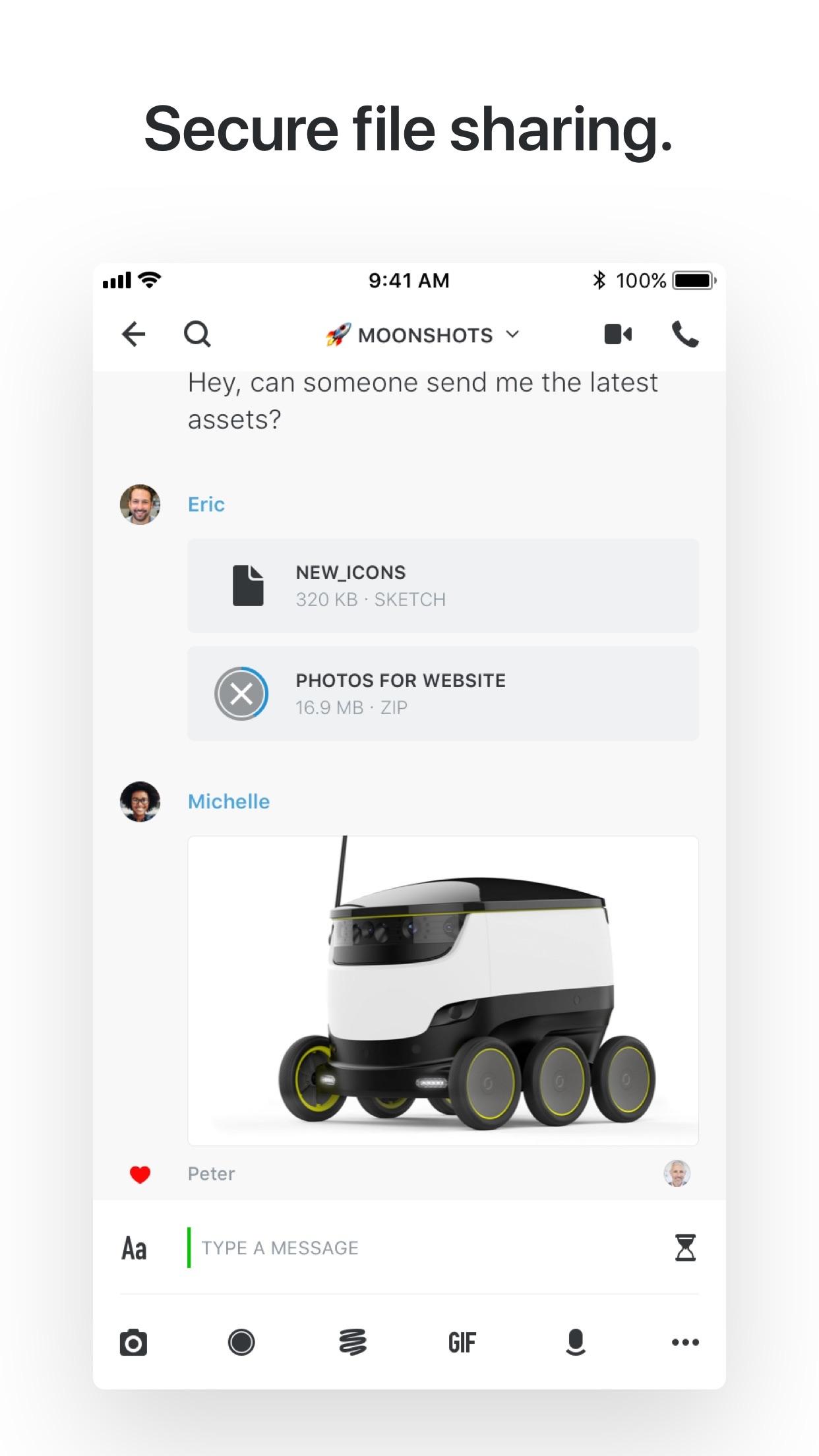 Wire • Secure Messenger Screenshot