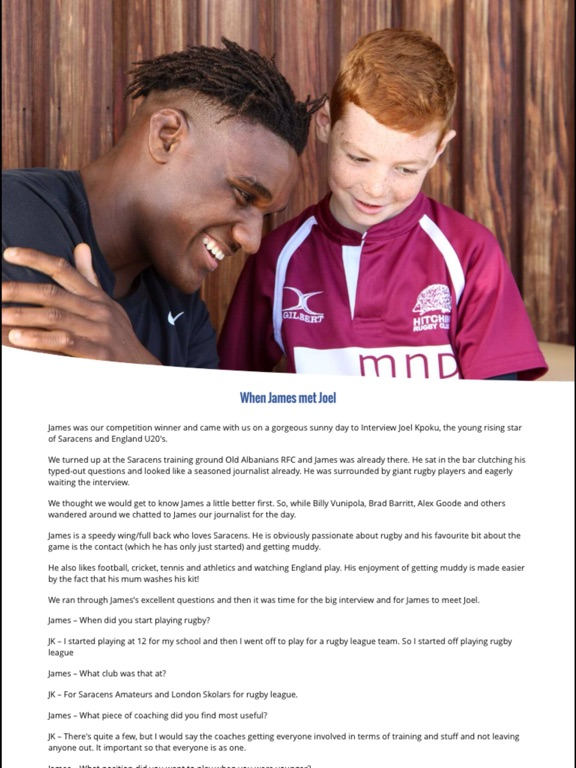 NU Generation Rugby Magazine screenshot 8