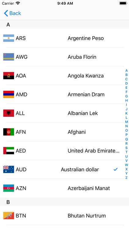 Exchange rate calculation ! screenshot-3