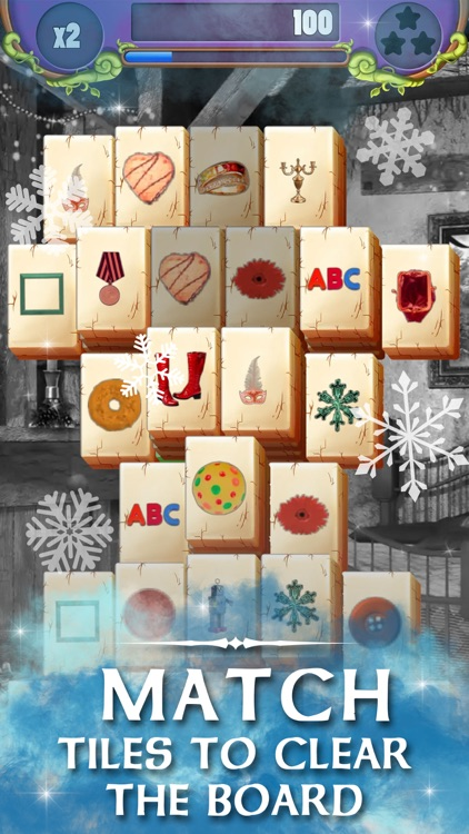 Christmas Solitaire Mahjong screenshot-3
