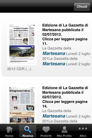 Gazzetta della Martesana - náhled