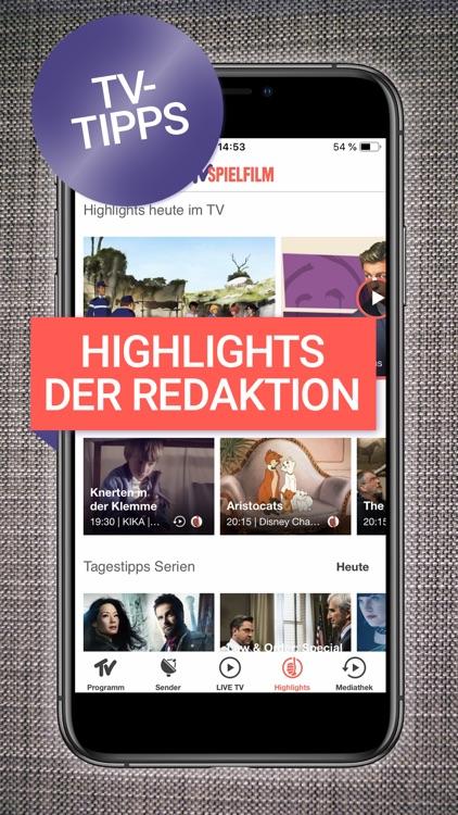 TV SPIELFILM - TV Programm screenshot-4