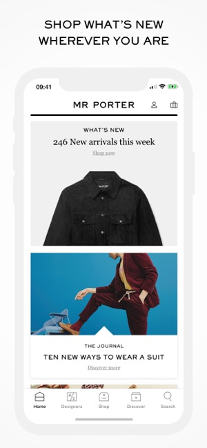 7a5a718d48d MR PORTER | Luxury Fashion on the App Store