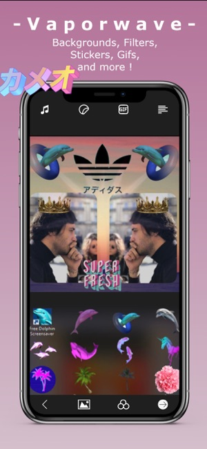 Vapor - Vaporwave Video Editor on the App Store
