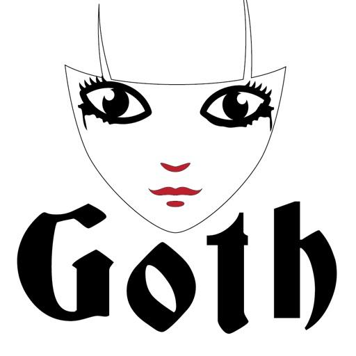Goth Girl Emoji
