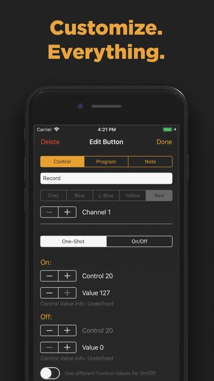 Midi Controller - Remote & USB screenshot-3