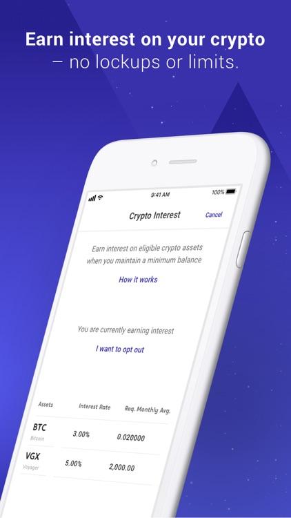 Voyager - Buy Bitcoin & Crypto screenshot-8