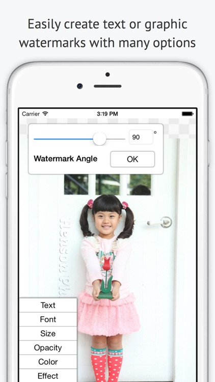 iWatermark Lite Watermark Pics