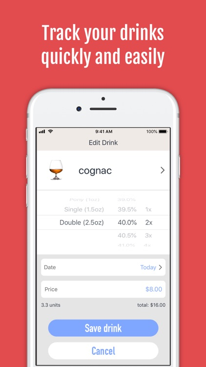 DrinkControl: Alcohol Tracker screenshot-3
