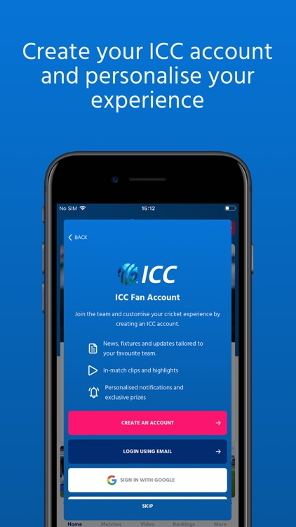 ICC Cricket screenshot-6
