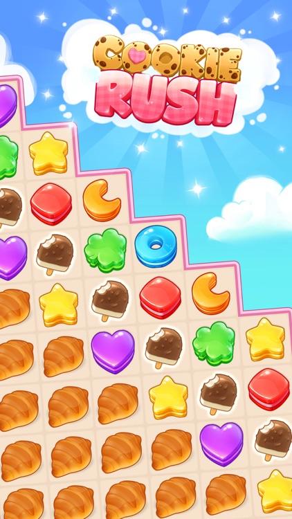 Cookie Rush - Match Adventure screenshot-4