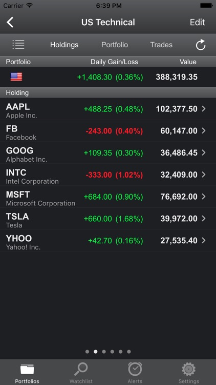 Portfolio Trader Lite - Stocks screenshot-3