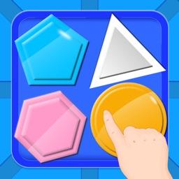 宝宝益智游戏-儿童形状色彩益智认知的启蒙游戏