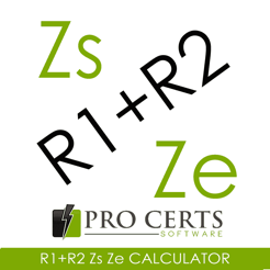 ‎R1+R2 Zs Ze Calculator