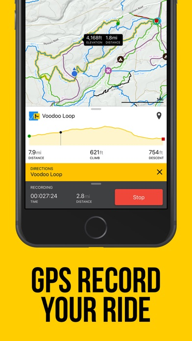 Screenshot for Trailforks - Mountain Bike Map in Israel App Store