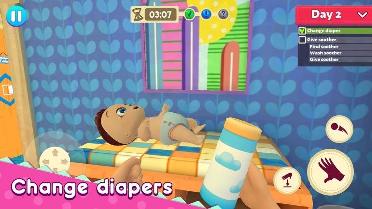 Housewife: Mother Simulator screenshot-4