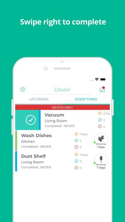 Devoir - Simple Chore Manager screenshot-3