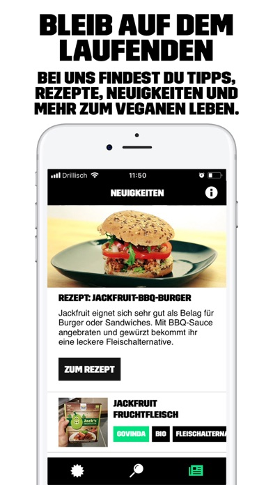 Screenshot for Der vegane Einkaufsguide in Germany App Store