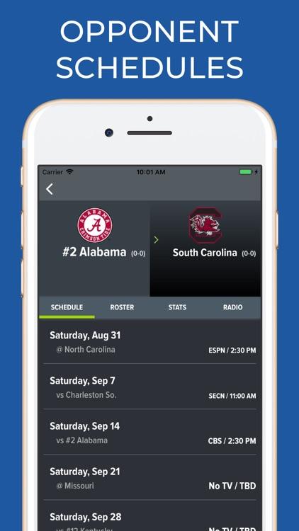 Alabama Football Schedules screenshot-6
