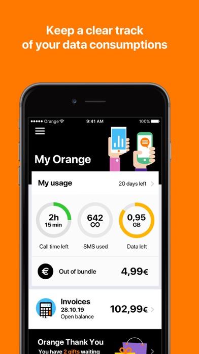 Screenshot for My Orange BE in Belgium App Store