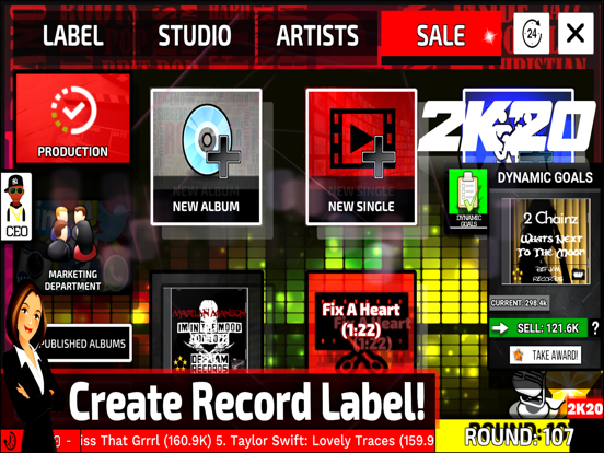 Music Label Manager 2K20 screenshot 12