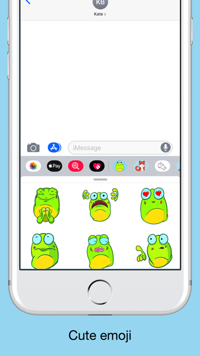 Crazy frog emojis - stickers screenshot 2