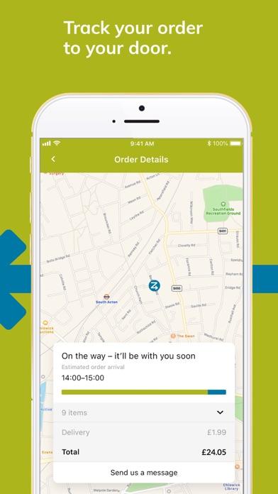 Ocado Zoom 60-minute groceries screenshot four
