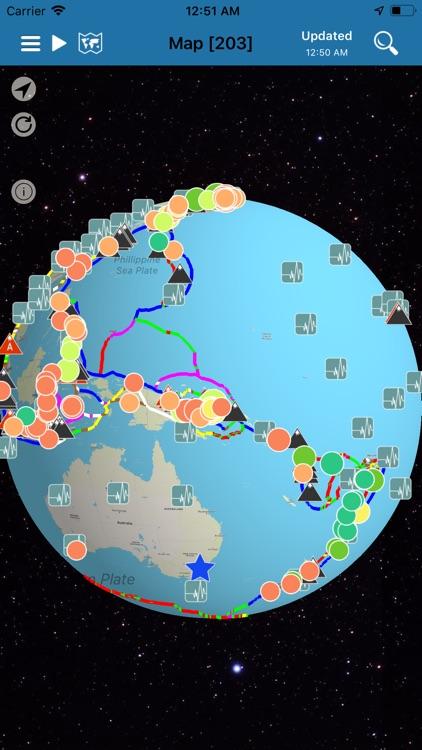 Earthquake + Alert, Map & Info screenshot-3