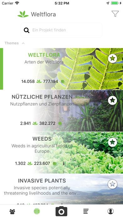 Screenshot for PlantNet in Germany App Store