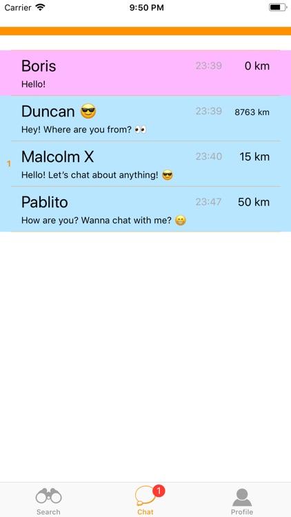iBesedka: Random text chat screenshot-3