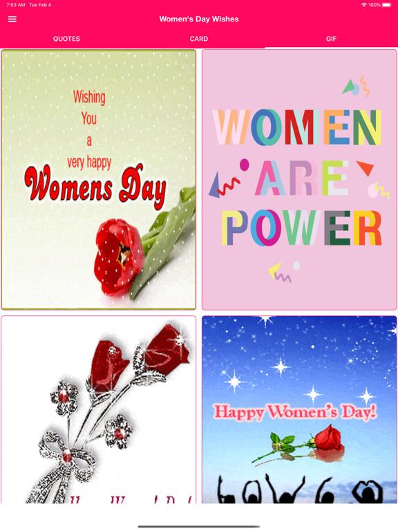 Women's Day Wishes screenshot 7