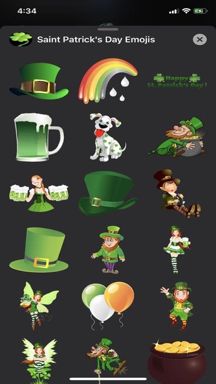 Saint Patrick's Day Emojis