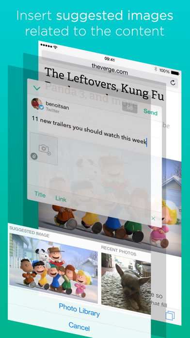 Linky For Twitter And Mastodon review screenshots