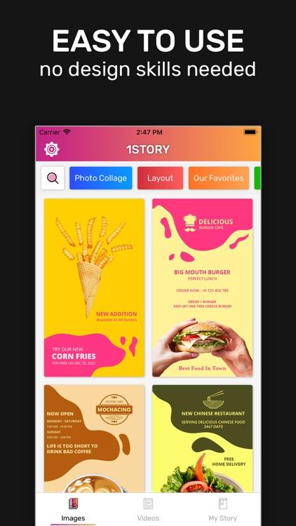 1SStory: Story Maker & Editor screenshot-5