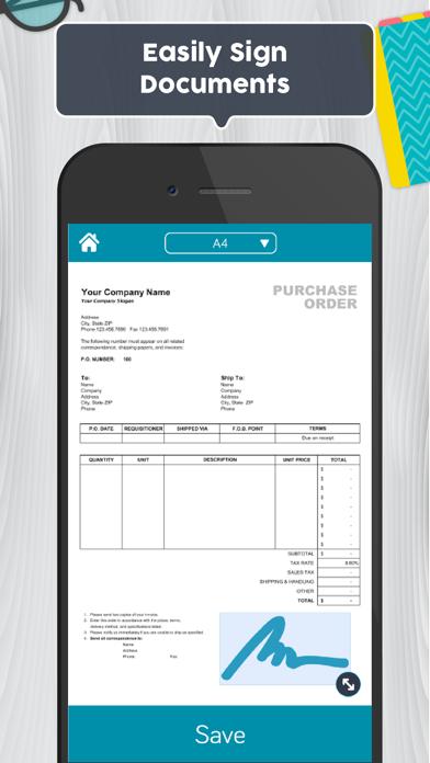 Easy Scanner PDF Document Scan Screenshot