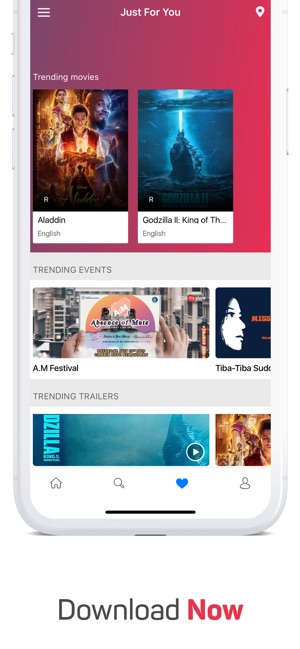 Bookmyshow Movies Events Di App Store