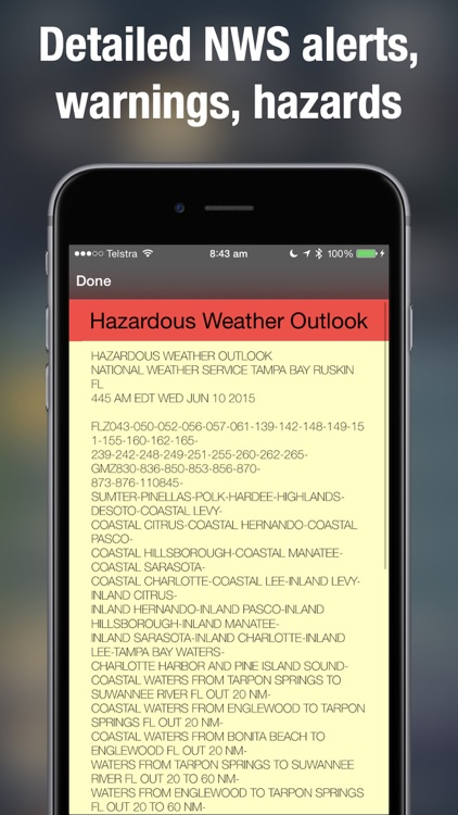 Weather Radar Map Live screenshot-4