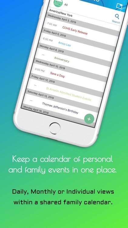 Bievo: Planner for your family screenshot-5