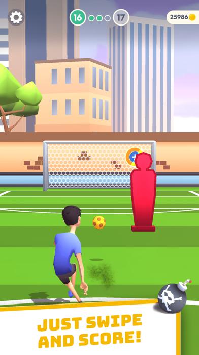Flick Goal! screenshot 1