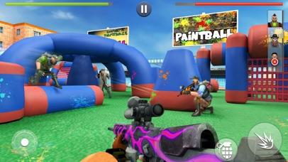 Paintball Shooting Games 3D screenshot 1