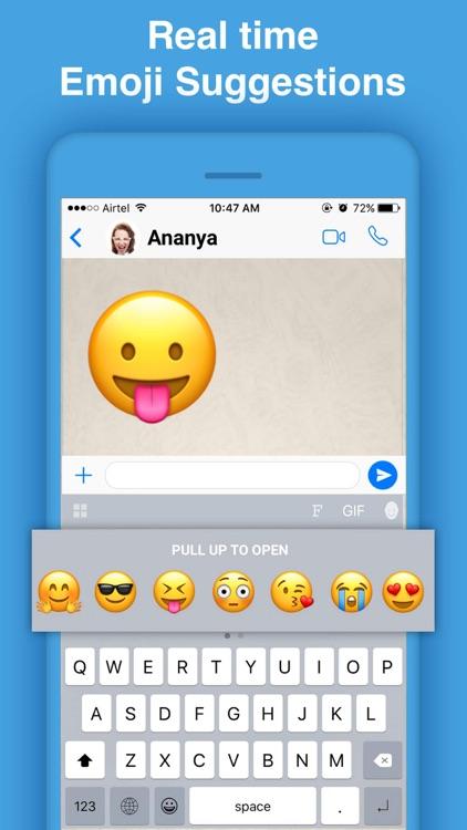 Bobble GIF Stickers Keyboard screenshot-3